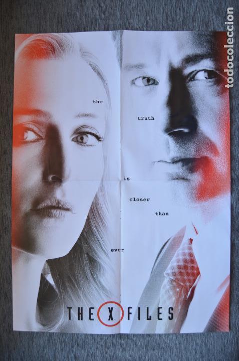 POSTER O CARTEL DOBLE #027 DE EXPEDIENTE X Y VENGADORES (Cine - Posters y Carteles - Suspense)