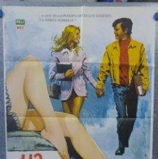Cine: YA SOMOS HOMBRES. VALENTÍN TRUJILLO, OCTAVIO GALINDO. AÑO 1971. POSTER ORIGINAL. Lote 161718182