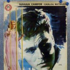 Cine: ENSAYO GENERAL PARA LA MUERTE. SUSANA CAMPOS, CARLOS ESTRADA. AÑO 1962. POSTER ORIGINAL . Lote 161721206