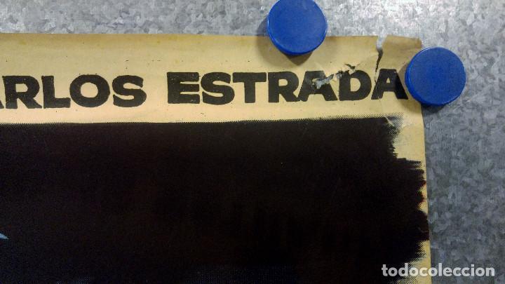 Cine: Ensayo general para la muerte. Susana Campos, Carlos Estrada. AÑO 1962. POSTER ORIGINAL - Foto 3 - 161721206