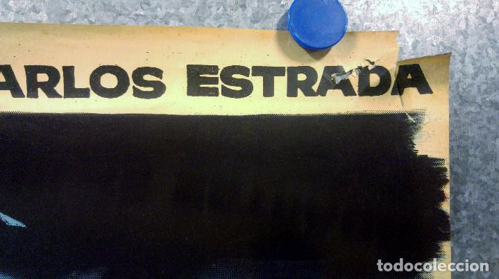 Cine: Ensayo general para la muerte. Susana Campos, Carlos Estrada. AÑO 1962. POSTER ORIGINAL - Foto 4 - 161721206