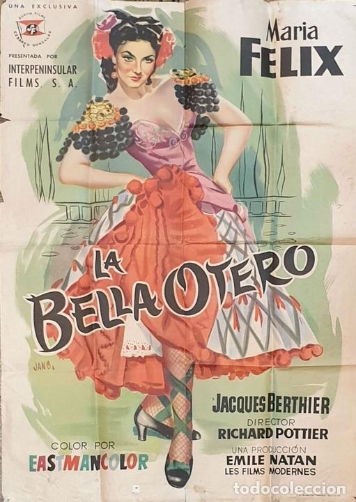 Cine: COLECCIÓN DE 4 CARTELES DE CINE Y ESPECTACULOS. ORIGINALES. CIRCA 1940. - Foto 5 - 161774022