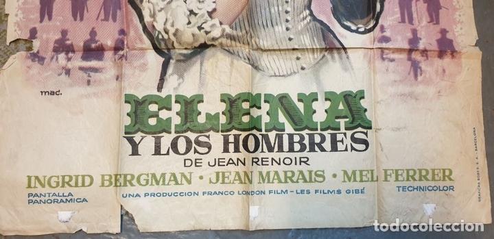 Cine: COLECCIÓN DE 4 CARTELES DE CINE Y ESPECTACULOS. ORIGINALES. CIRCA 1940. - Foto 11 - 161774022