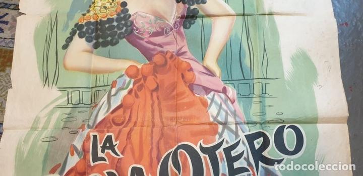 Cine: COLECCIÓN DE 4 CARTELES DE CINE Y ESPECTACULOS. ORIGINALES. CIRCA 1940. - Foto 13 - 161774022