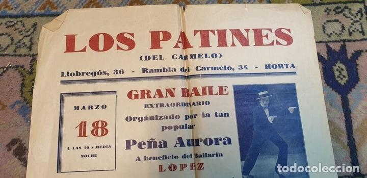 Cine: COLECCIÓN DE 4 CARTELES DE CINE Y ESPECTACULOS. ORIGINALES. CIRCA 1940. - Foto 16 - 161774022
