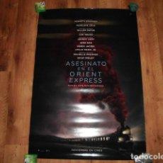 Cine: POSTER O CARTEL DE CINE: ASESINATO EN EL ORIENT EXPRESS. ORIGINAL. NORMAL ESTADO.. Lote 191746707