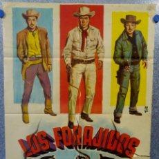 Cine: LOS FORAJIDOS. JOAQUIN CORDERO, ROSA DE CASTILLA. AÑO 1964 POSTER ORIGINAL . Lote 161926386