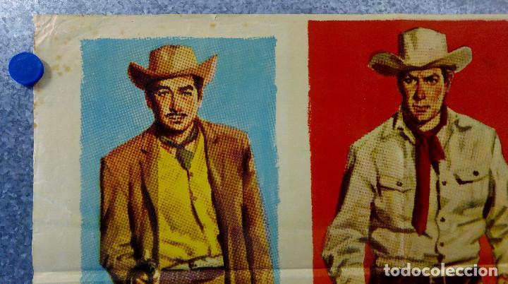 Cine: LOS FORAJIDOS. JOAQUIN CORDERO, ROSA DE CASTILLA. AÑO 1964 POSTER ORIGINAL - Foto 2 - 161926386