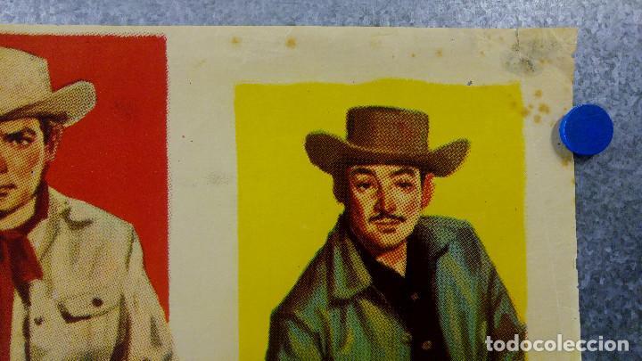 Cine: LOS FORAJIDOS. JOAQUIN CORDERO, ROSA DE CASTILLA. AÑO 1964 POSTER ORIGINAL - Foto 3 - 161926386
