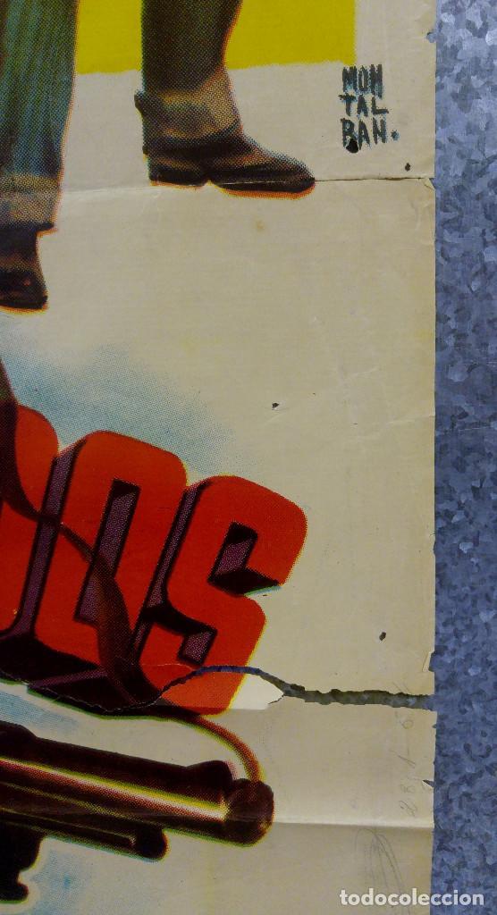 Cine: LOS FORAJIDOS. JOAQUIN CORDERO, ROSA DE CASTILLA. AÑO 1964 POSTER ORIGINAL - Foto 6 - 161926386