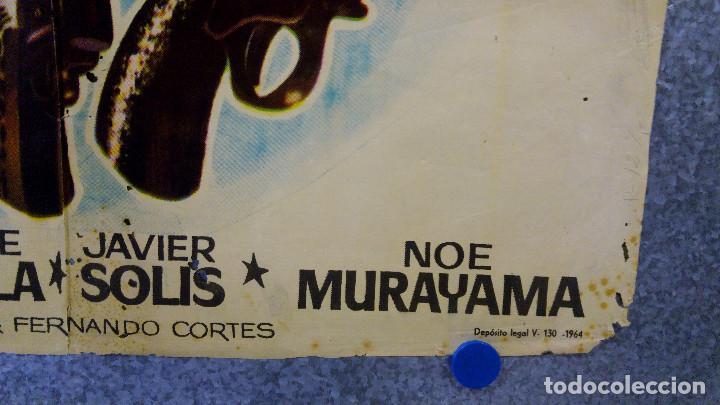 Cine: LOS FORAJIDOS. JOAQUIN CORDERO, ROSA DE CASTILLA. AÑO 1964 POSTER ORIGINAL - Foto 9 - 161926386