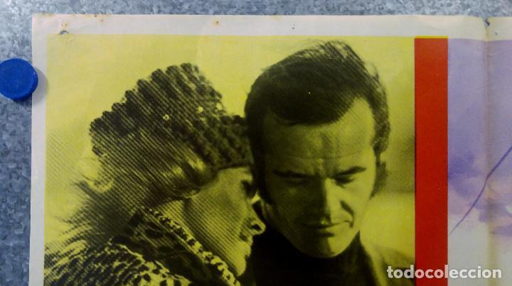 Cine: MI VIDA ES MI VIDA. Jack Nicholson, Karen Black, Susan Anspach. AÑO 1971 POSTER ORIGINAL - Foto 2 - 161931098