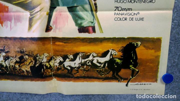Cine: LOS INDESTRUCTIBLES. JOHN WAYNE, ROCK HUDSON . AÑO 1969. POSTER ORIGINAL - Foto 5 - 161935154