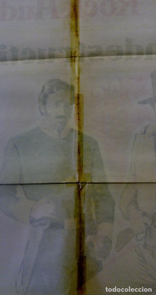 Cine: LOS INDESTRUCTIBLES. JOHN WAYNE, ROCK HUDSON . AÑO 1969. POSTER ORIGINAL - Foto 10 - 161935154