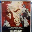 Cine: A QUEMARROPA. LEE MARVIN. AÑO 1968. POSTER ORIGINAL. Lote 161949062