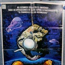 Cine: CONEXION CON LOS EXTRATERRESTRES. FRED WARSHOFSKY. AÑO 1977. POSTER ORIGINAL. Lote 162098890