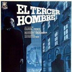 Cine: EL TERCER HOMBRE (POSTER). Lote 187148312