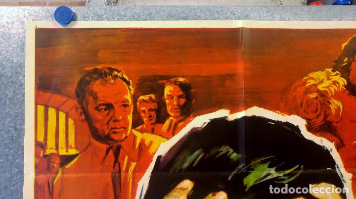 Cine: HOMBRE MARCADO. Stuart Whitman, Maria Schell, Rod Steiger. AÑO 1969. POSTER ORIGINAL - Foto 2 - 162618702