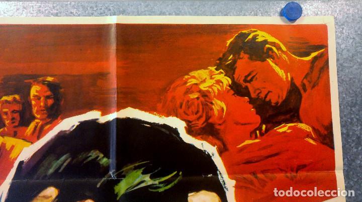 Cine: HOMBRE MARCADO. Stuart Whitman, Maria Schell, Rod Steiger. AÑO 1969. POSTER ORIGINAL - Foto 3 - 162618702