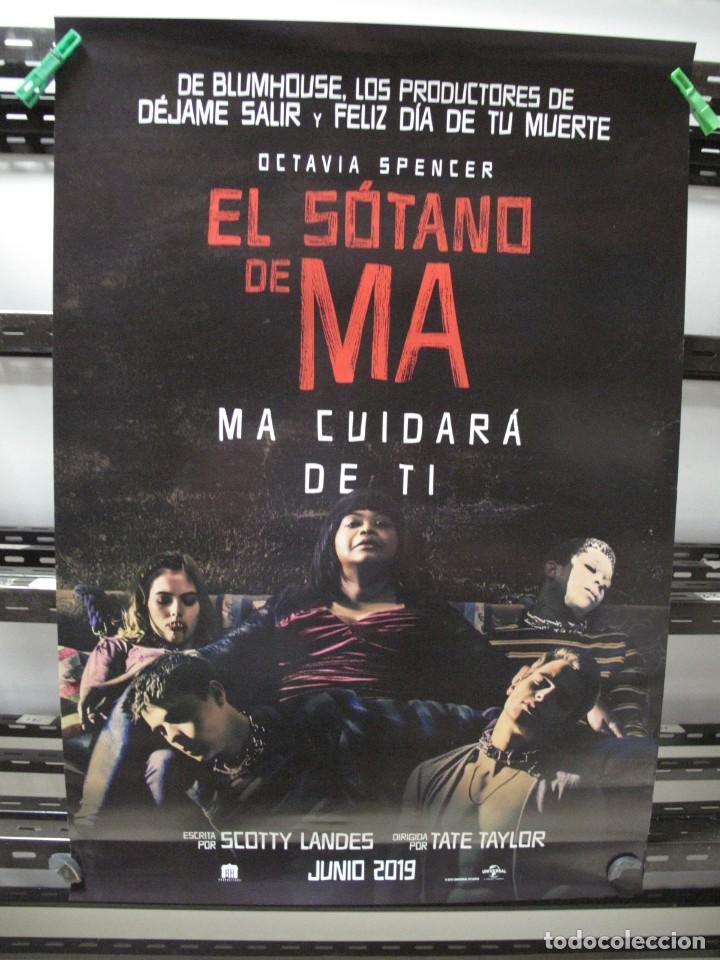 EL SOTANO DE MA (Cine - Posters y Carteles - Aventura)