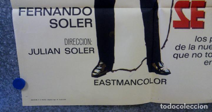 Cine: Cuando los hijos se van. Amparo Rivelles, Fernando Soler. AÑO 1970. POSTER ORIGINAL - Foto 5 - 163086838