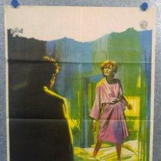 Cine: ESCLAVOS DEL PECADO. STUART WHITMAN, JANET LEIGH, ELEANOR PARKER. AÑO 1967 POSTER ORIGINAL. Lote 163089314