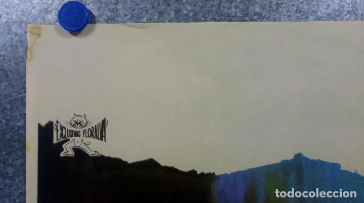 Cine: Esclavos del pecado. Stuart Whitman, Janet Leigh, Eleanor Parker. AÑO 1967 POSTER ORIGINAL - Foto 2 - 163089314