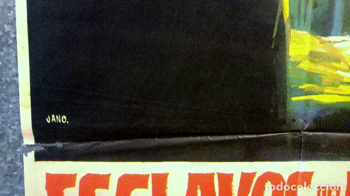 Cine: Esclavos del pecado. Stuart Whitman, Janet Leigh, Eleanor Parker. AÑO 1967 POSTER ORIGINAL - Foto 6 - 163089314