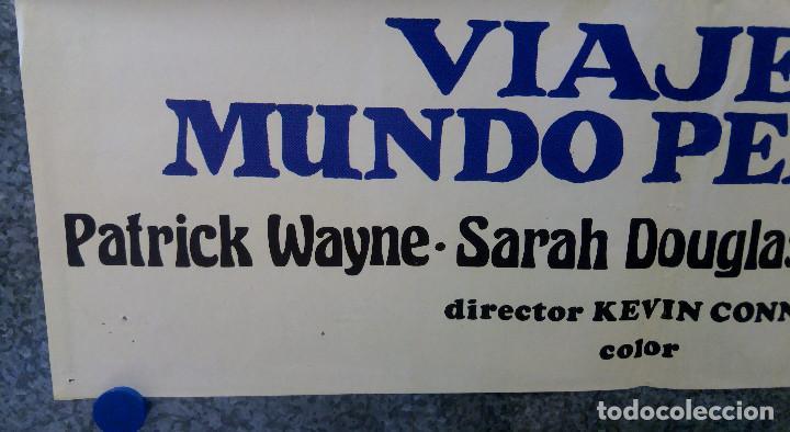 Cine: Viaje al mundo perdido. Patrick Wayne, Doug McClure AÑO 1979. POSTER ORIGINAL - Foto 5 - 163408234