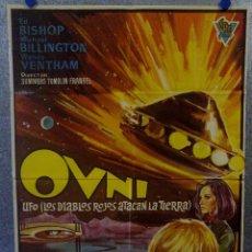 Cine: OVNI. ED BISHOP, MICHAEL BILLINGTON, WANDA VENTHAM, VLADEK SHEYBAL AÑO 1965 POSTER ORIGINAL. Lote 163600854