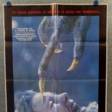 Cine: PACTO DE SANGRE. LANCE HENRIKSEN, JEFF EAST, JOHN D'AQUINO AÑO 1987. POSTER ORIGINAL. Lote 163781746