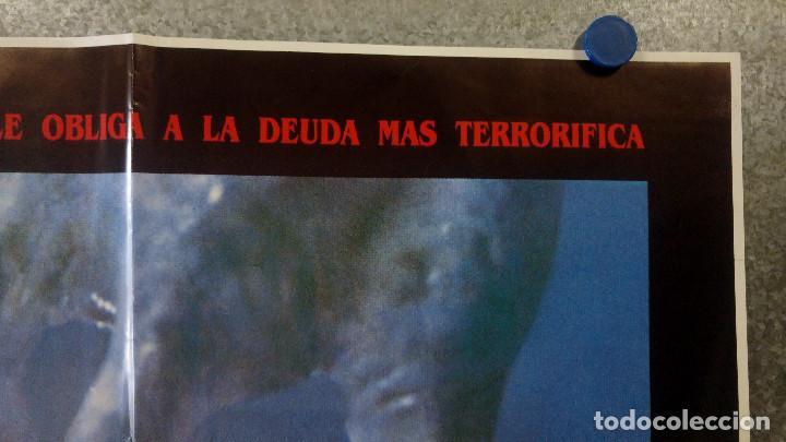 Cine: Pacto de sangre. Lance Henriksen, Jeff East, John DAquino AÑO 1987. POSTER ORIGINAL - Foto 3 - 163781746