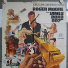 Cine: ZO41 EL HOMBRE DE LA PISTOLA DE ORO JAMES BOND 007 ROGER MOORE POSTER ORIGINAL 70X100 ESTRENO. Lote 163846170