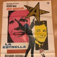 Cine: CARTEL O POSTER LA ESTRELLA JULIE ANDREWS. Lote 195145611