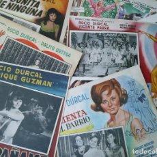 Cine: LOTE DE 9 LOBBY CARDS MEXICANOS DE ROCÍO DÚRCAL.CASI TODAS SUS PELÍCULAS.AÑOS 60 (VER FOTOS). Lote 164106622