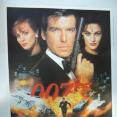 Cinema: JAMES BOND 007 GOLDENEYE - POSTER CARTEL ORIGINAL - PIERCE BROSNAN FAMKE JANSSEN SIN DOBLAR !. Lote 181775642