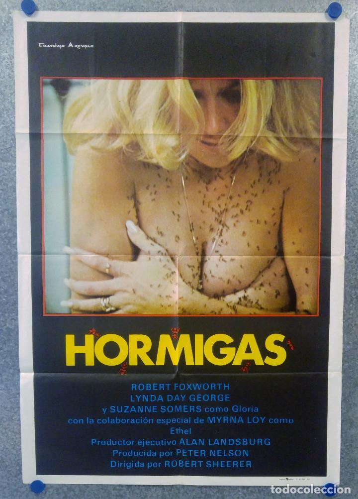 HORMIGAS. ROBERT FOXWORTH, LYNDA DAY GEORGE, SUZANNE SOMERS. AÑO 1979. POSTER ORIGINAL (Cine - Posters y Carteles - Terror)