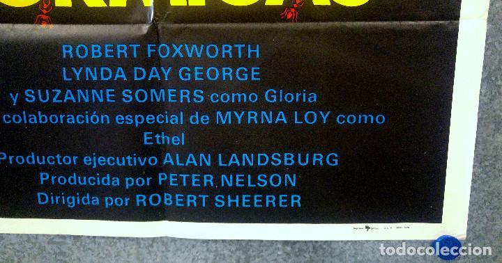 Cine: HORMIGAS. ROBERT FOXWORTH, LYNDA DAY GEORGE, SUZANNE SOMERS. AÑO 1979. POSTER ORIGINAL - Foto 4 - 164728146