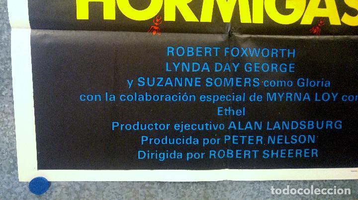 Cine: HORMIGAS. ROBERT FOXWORTH, LYNDA DAY GEORGE, SUZANNE SOMERS. AÑO 1979. POSTER ORIGINAL - Foto 5 - 164728146