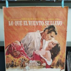 Cine: POSTER LO QUE EL VIENTO SE LLEVO. Lote 164789769