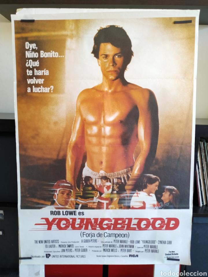 YOUNGBLOOD FORJA DE CAMPEON -DOBLADO- 70X100 (Cine - Posters y Carteles - Deportes)