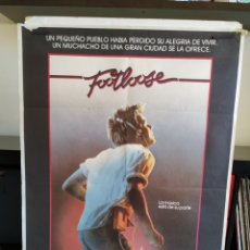 Cine: FOOTLOOSE CARTEL 70X100. Lote 164877590