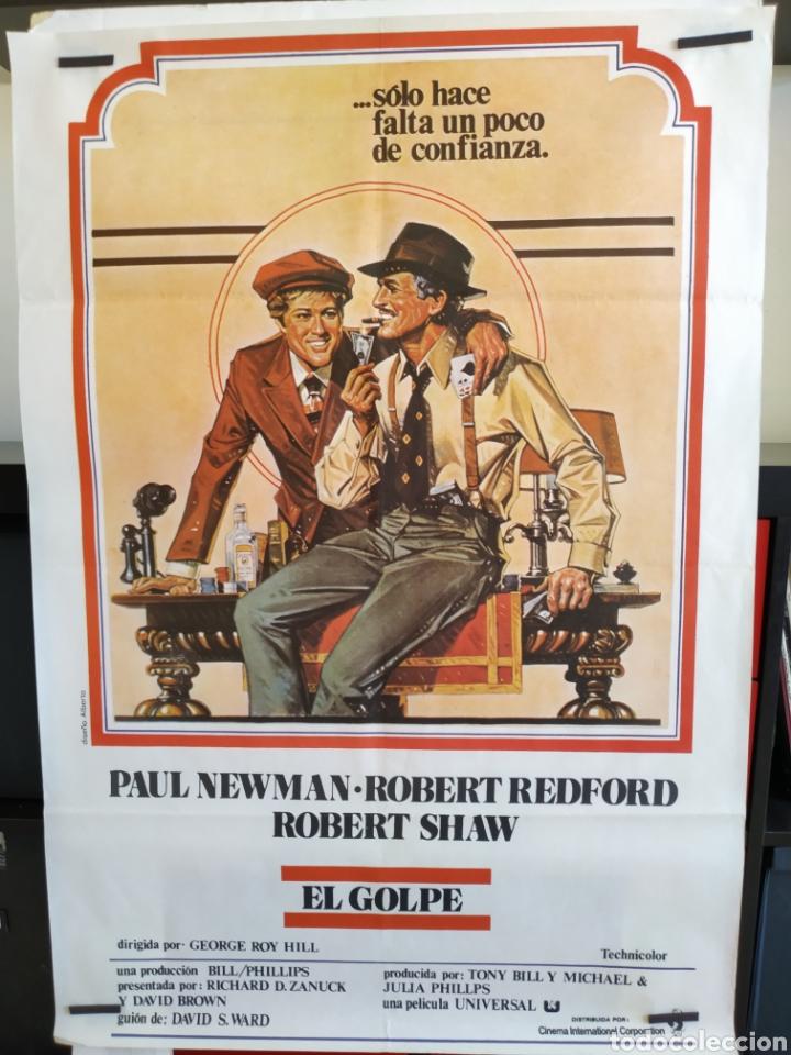 EL GOLPE -DOBLADO- ROBERT REDFORD - PAUL NEWMAN 70X100 CARTEL (Cine - Posters y Carteles - Comedia)