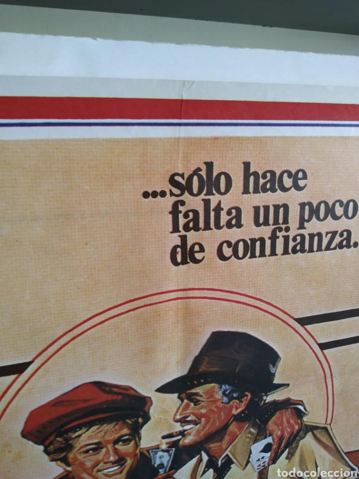 Cine: El Golpe -doblado- Robert Redford - Paul Newman 70x100 cartel - Foto 5 - 164877794