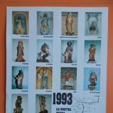 Cine: CARTEL TIPO CARTON - LA NOSTRA TERRA - AÑO 1993 - RUTA SANTA LINYA , AGER , AVELLANES , ETC... A1544. Lote 164891998