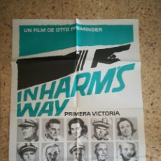 Cinema: INHARM'S WAY - PRIMERA VICTORIA. Lote 164923628