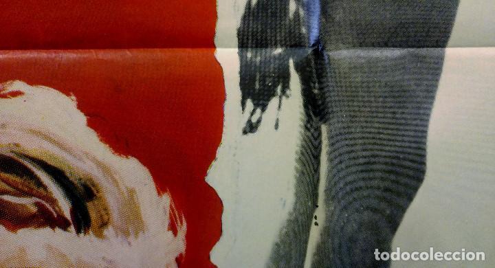 Cine: Las cinco advertencias de Satanás. Arturo Fernández, Cristina Galbó, Améri AÑO 1969. POSTER ORIGINAL - Foto 5 - 165056178