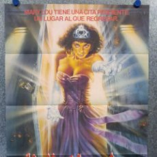 Cine: HELLO MARY LOU. MICHAEL IRONSIDE, WENDY LYON, JUSTIN LOUIS POSTER ORIGINAL. Lote 165060254