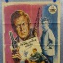 Cine: RAPTO EN HAMBURGO. FORREST TUCKER, EVA BARTOK, MARIUS GORING AÑO 1963. POSTER ORIGINAL. Lote 165072454