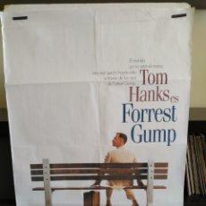 Cinema: POSTER FORREST GUMP 70X100 -DOBLADO-. Lote 165075213